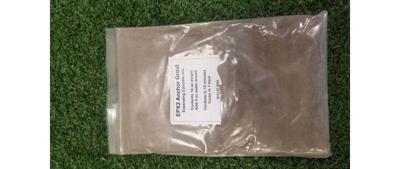"Cement pouches for Asphalt anchor 1"" x 12"""