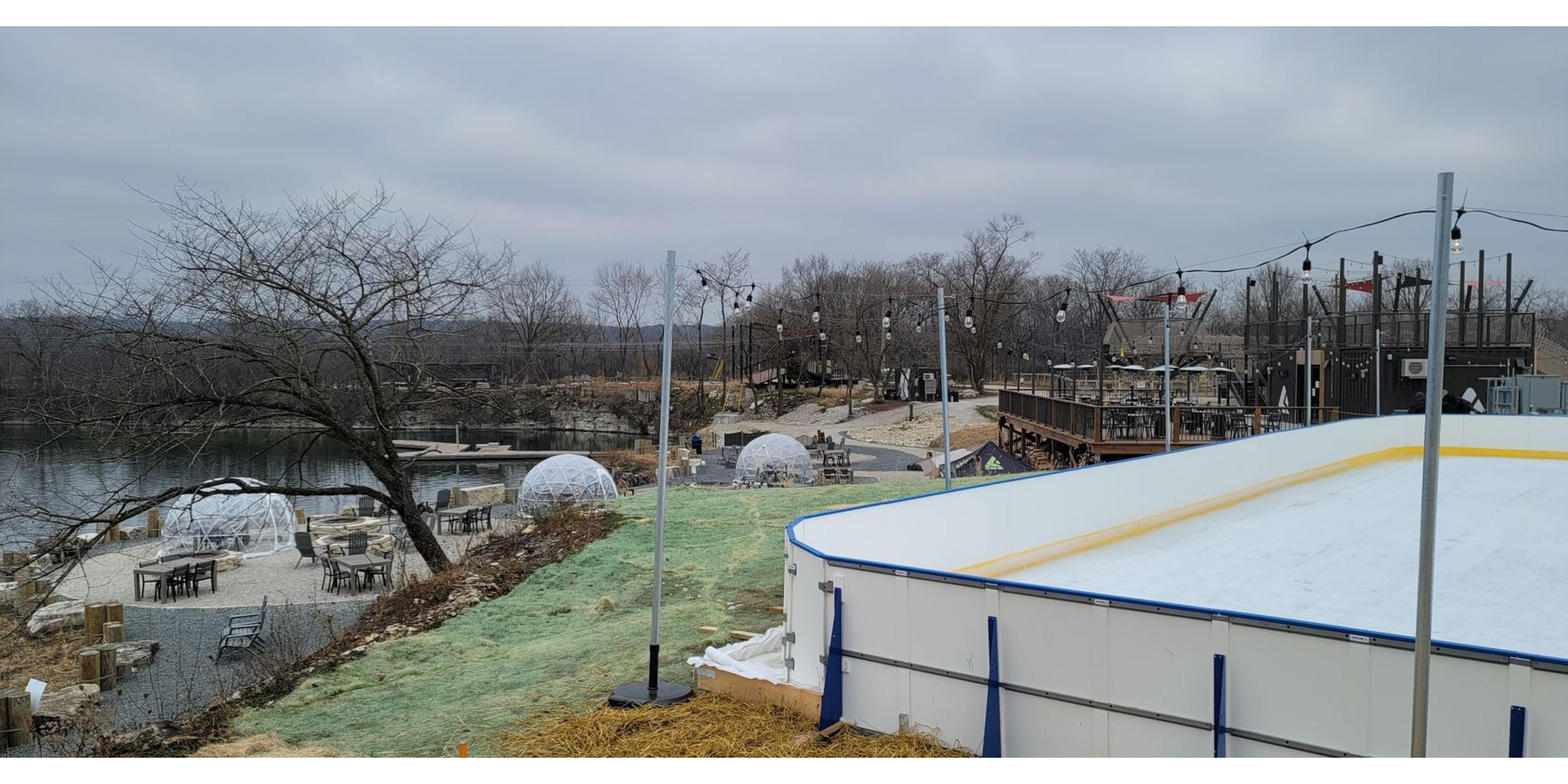 3v3 Hockey Rentals, Outdoor Dining & Beer Garden