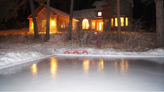 Backyard Ice Rink Lights backyard ice rinks - backyard rink - iron sleek, inc.