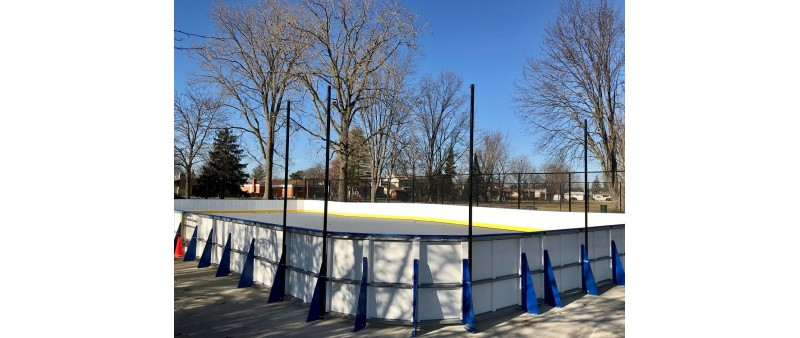 Poly-Steel Plus Rinks