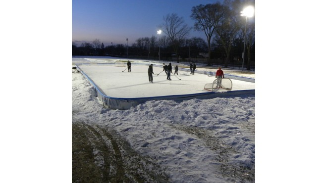 72' X 180' Hockey Rink Kit
