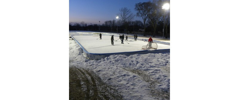 60' X 128' Hockey Rink Kit