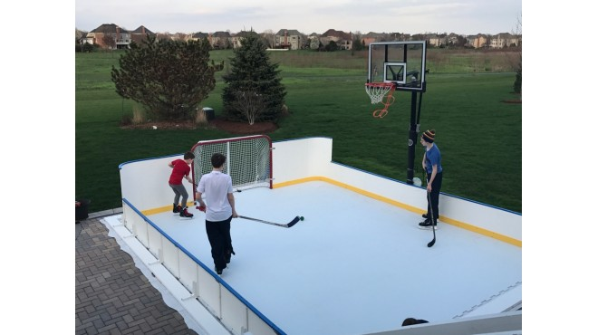 Poly-Steel Rink Boards Multiple Heights