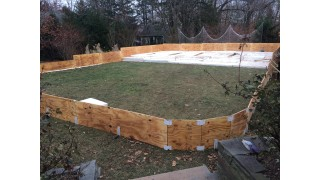Outrigger and Insulation, Now we are level!