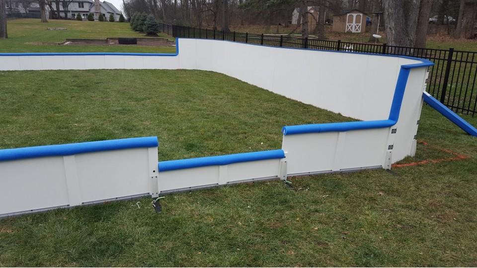 ... Free Backyard Ice Rink Boards ...
