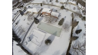 Backyard Rink Top View