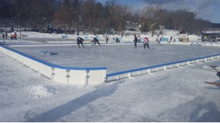 Black Ice Pond Hockey Tourney