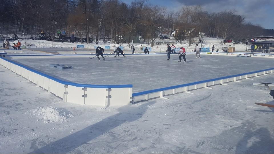 Hockey Rink Boards Board Packages Backyard.