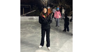 Figure Skater on Home Ice