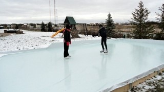 20 by 40 Rink Kit in Action