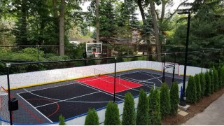 Fully enclosed sporting pad
