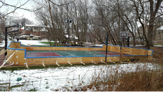 Estate Sports Court hockey hybrid Plywood dream.