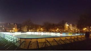 Urban dream rink, Wicker Ice Chicago.