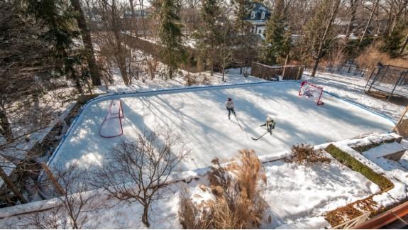 backyard ice rink