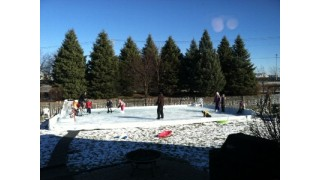 Winter Fun on home ice