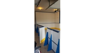 Door to garage rink