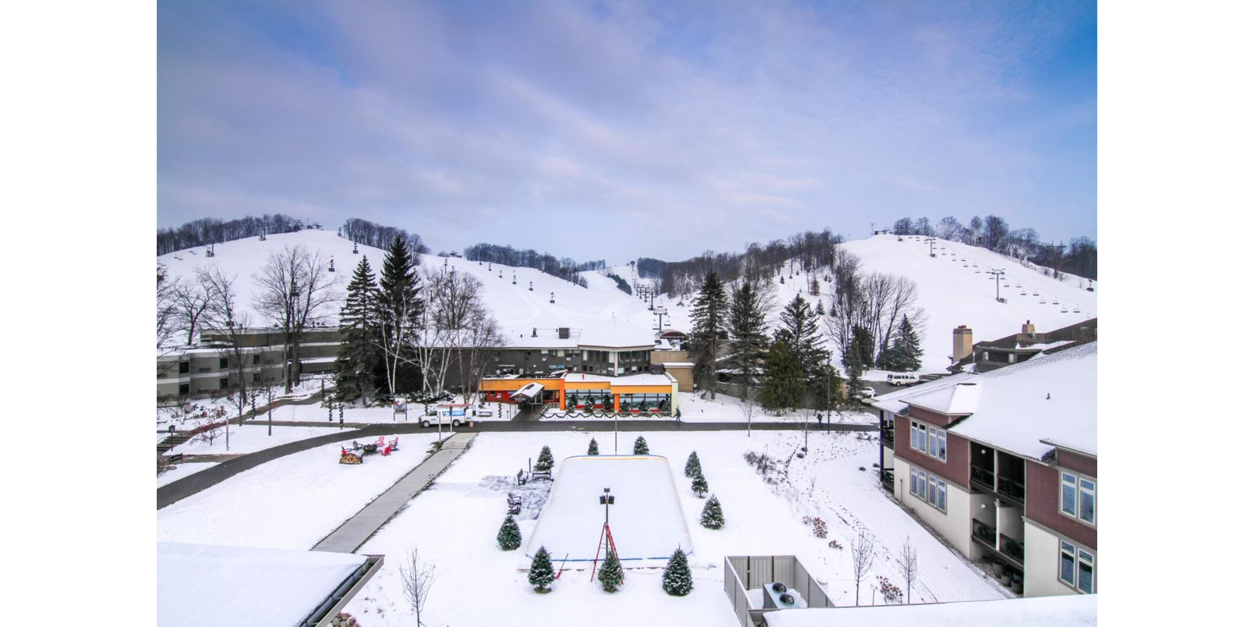 Hotel at Ski Resort