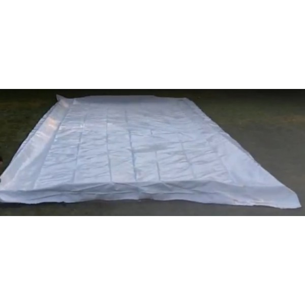 Iron Sleek Ice Rink Liner 50 X 100 6mil 3 Ply Liner