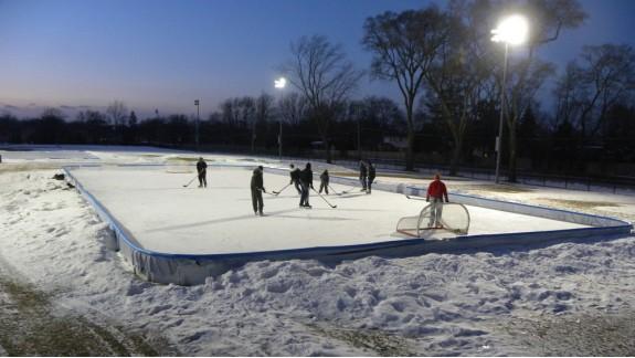 park hockey rink