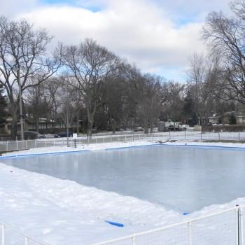 75' X 75' Skating Rink Kit