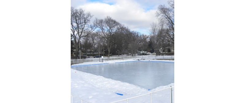 60' X 110' Skating Rink Kit