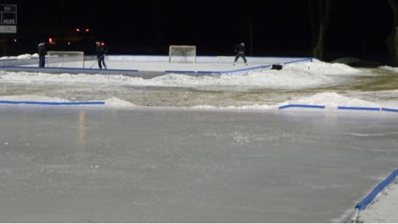 park ice rinks