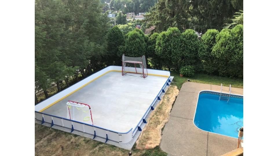Hockey After A Swim?