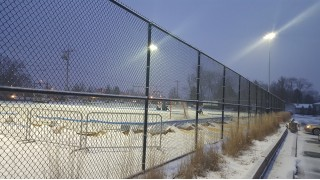 Rink on Tennis Court