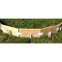 Iron Sleek Rink Round Kit (8 brackets)