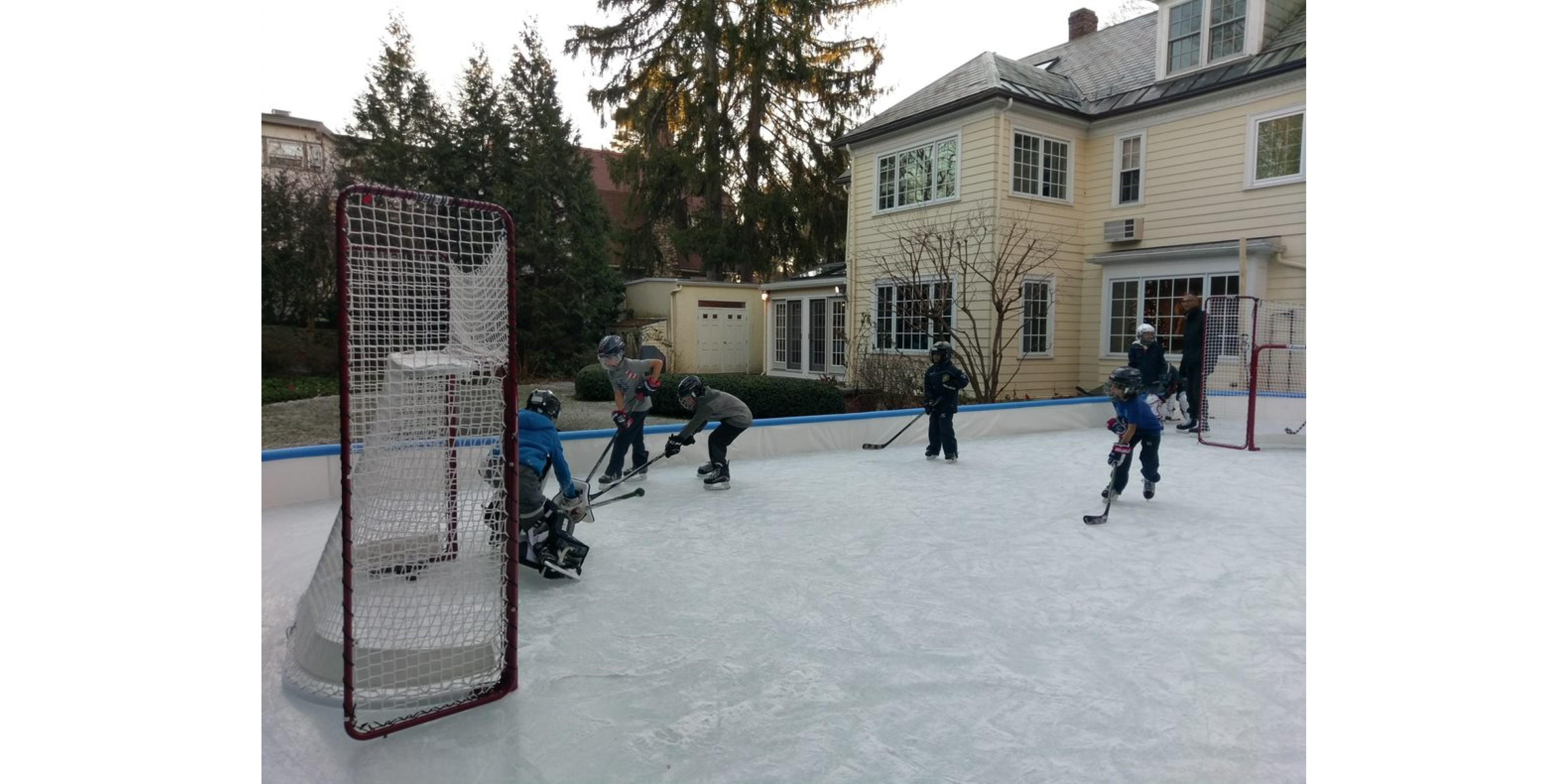 Winter Ice Hockey