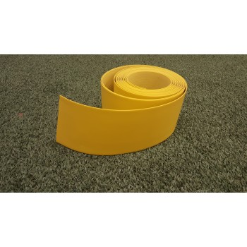 "4"" tall Yellow Hockey Base Board (30 ft)"