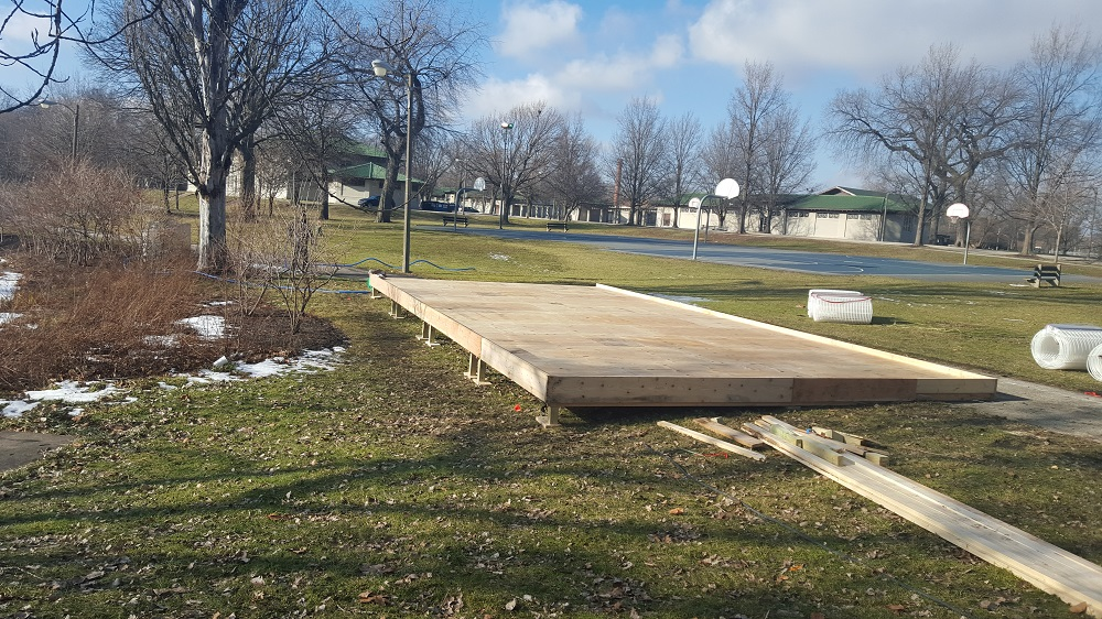 Portable Refrigerated Rinks for small