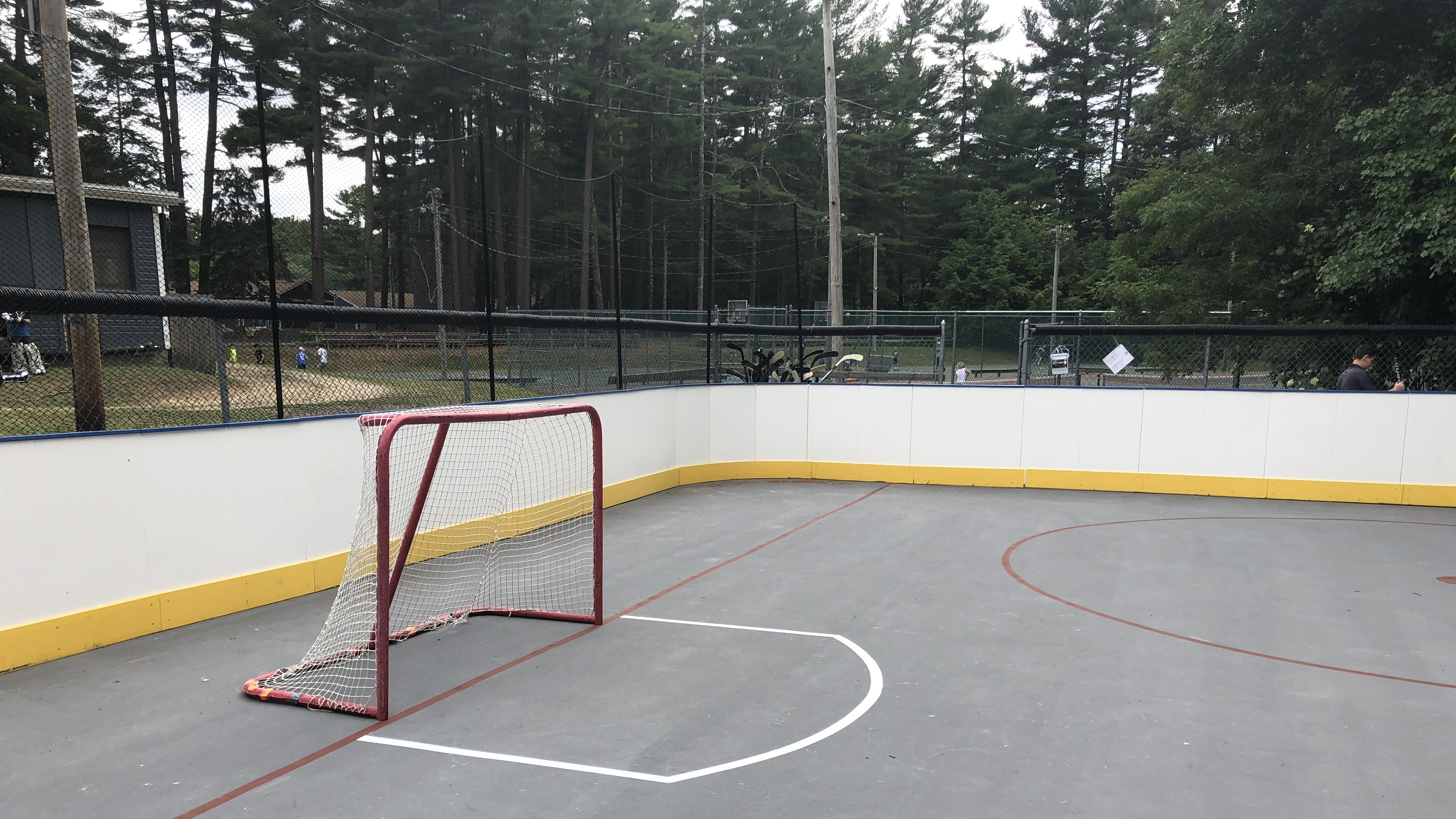 Recreational hockey boards and sporting walls