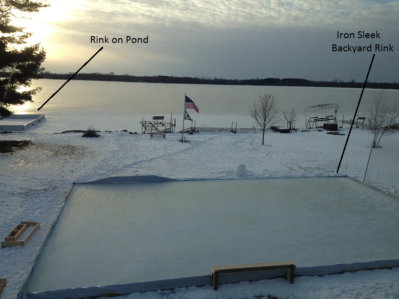 Pond Rink Or Yard Rink | Iron Sleek   Should I Build My Rink In The