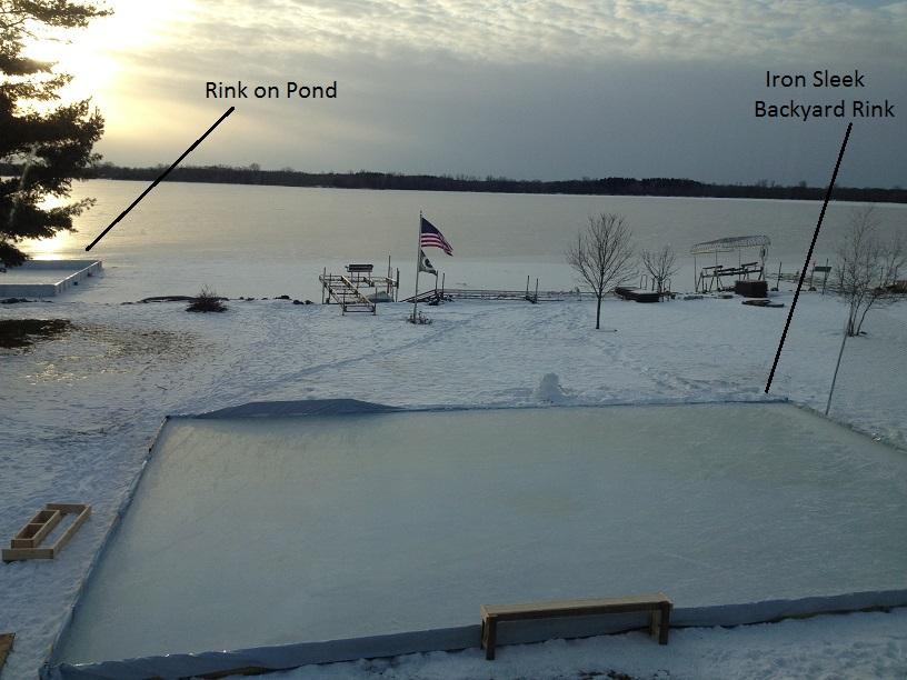 Pond Rink Or Yard Rink | Iron Sleek