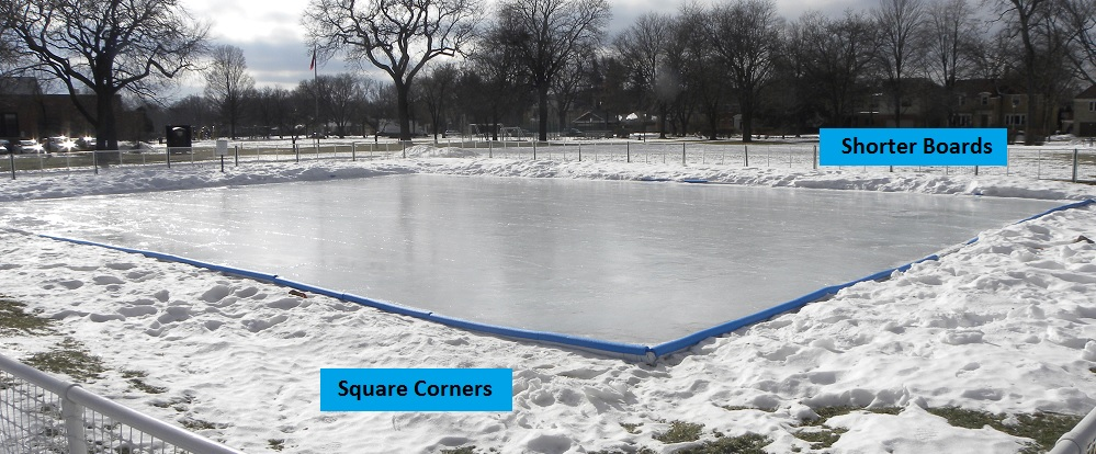 How To Make An Ice Skating Rink In Your Backyard backyard hockey rinks
