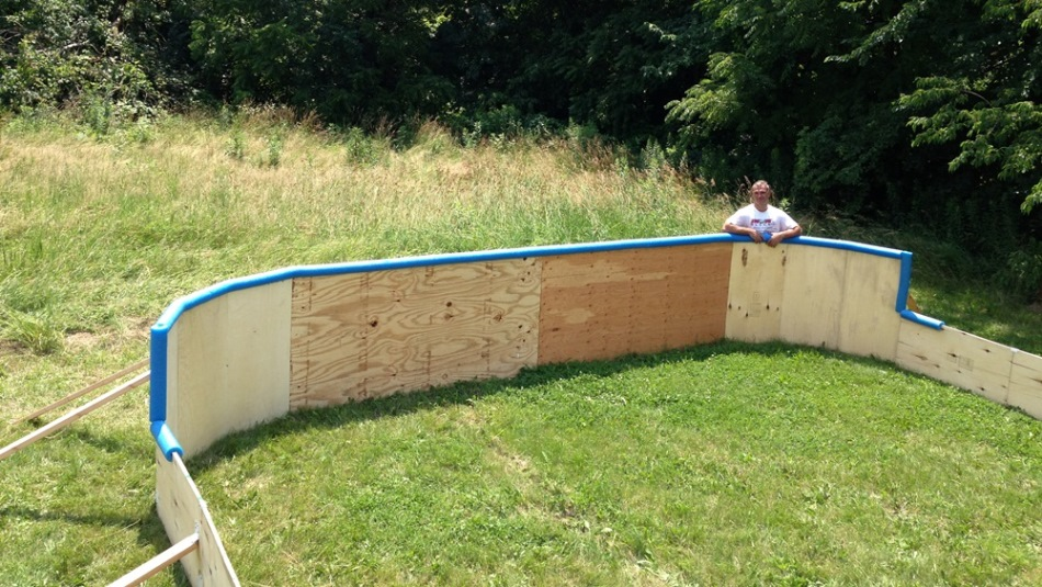 Rink Boards - Backyard Rink Boards - Backyard Ice Rink Boards