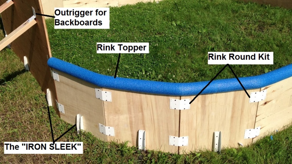 Backyard Rink Liner : Backyard Rink Parts  Iron Sleek