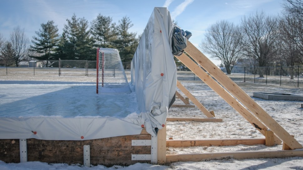Backyard Rink Ideas : backyard rink smooth all winter long 7 steps to a backyard ice rink