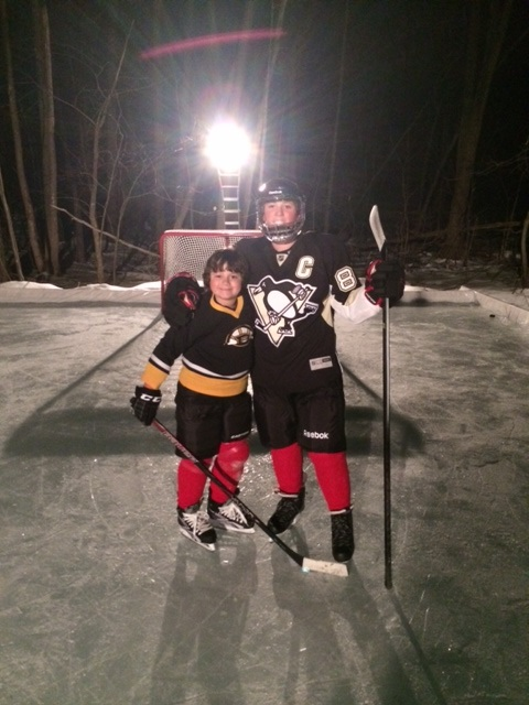 pennsylvania backyard ice rink