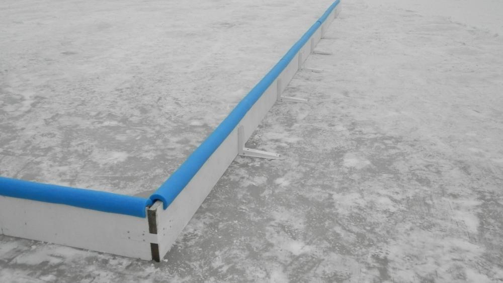 Pond hockey rink tips