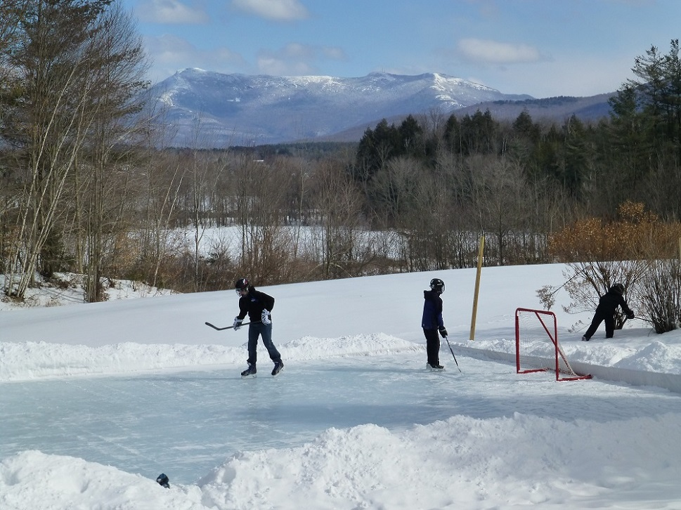 vermont backyard ice rink